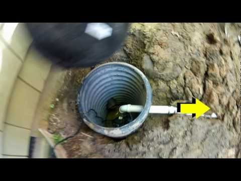 How To Install a Sump Pump. Do It Yourself Project. By Apple Drains. Drainage Contractors