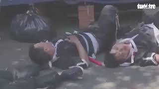 Video xe Lexus lao vào đội đưa tang, 3 người chết