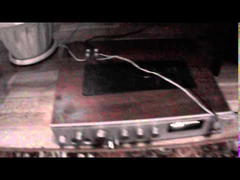 Усилитель радиотехника, музыкальная коробка,  2 разъёма для подключения колонок