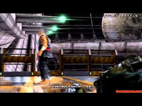 Tekken 5 - Story Battle - Heihachi Playthrough video