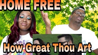 Download Lagu Home Free - How Great Thou Art (Acapella) |Couple Reacts Gratis STAFABAND