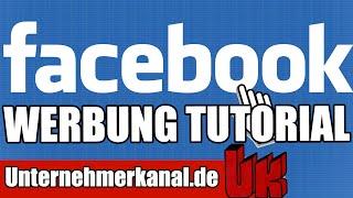 Facebook Werbung Tutorial für Anfänger (deutsch) -Wie erstelle Facebook Retargeting Werbeanzeigen?
