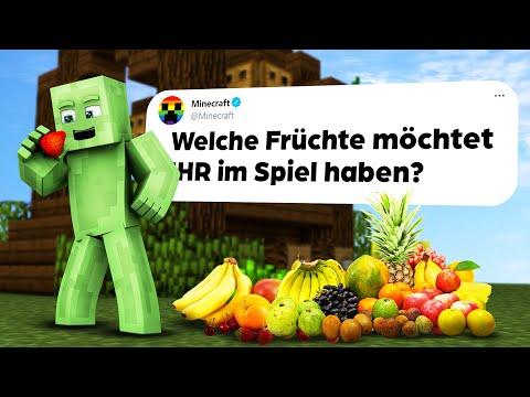 MINECRAFT bekommt neue Früchte & NEUER Sculk Block bestätigt!