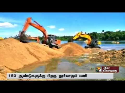 Details of desilting in Srivaikuntam dam and protests against sand mining