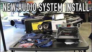 Installing a Complete Custom Audio System In The 240SX!