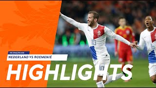 Highlights Netherlands - Romania 4-0 WC-qualification 26-03-2013