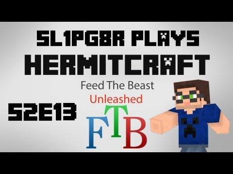 Hermitcraft FTB S2E13 - Cheaty Vajra is Conveyor Belt? ( Minecraft Feed The Beast Let's Play )