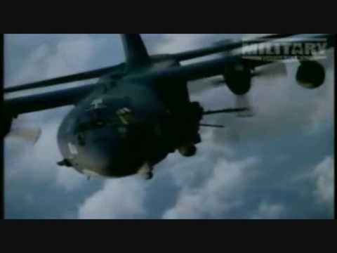 AC-130 Gunship Video