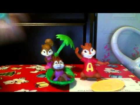 Alvin 46 the chipmunks toys sat during