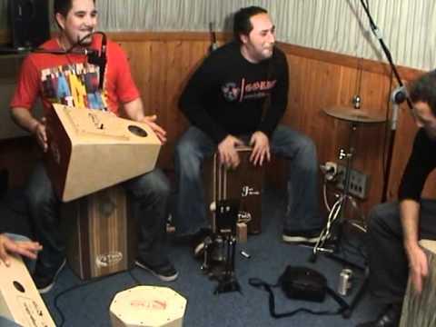 Probando instrumentos de Katho Percusion
