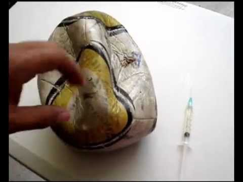 How to: Reparar un baln con huevo (Fix a ball with an egg) Music Videos