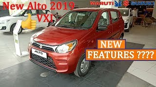 Maruti New Alto VXI 2019-Detailed Features Review