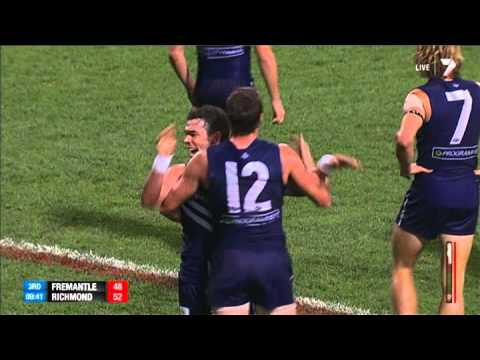 Round 5 AFL - Fremantle v Richmond Highlights