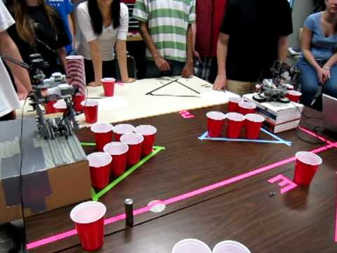 Engineers Playing Beer Pong