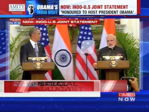 'Pleasure to welcome President Barack Obama' Narendra Modi