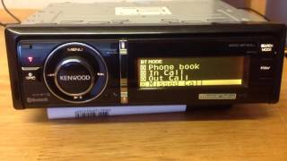 Kenwood KDC-BT61U Bluetooth MP3/WMA/AAC/CD-Receiver
