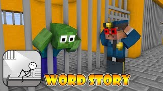 Monster School : WORDS STORY CHALLENGE - Minecraft Animation