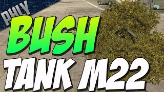 M22 VS TIER 5 CHALLENGE - BUSH TANK ( War Thunder Tanks Gameplay)