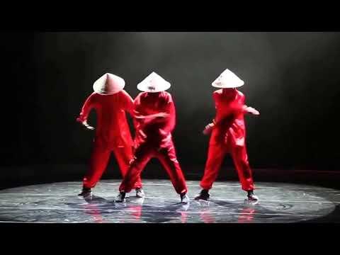 """Современные Танцы. Крутой китайский хип хоп - QUICK CREW """"Strawhats"""""""