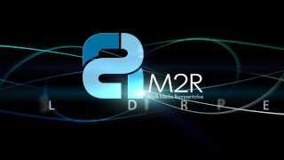 M 2 R logo Animation