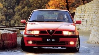 Alfa Romeo 155 Q4 Test - Top Gear