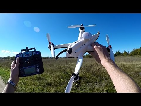 Недорогой квадрокоптер с GPS Flying 3D X8