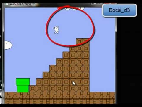 Gato bros, nivel 1 y 2 TUTORIAL