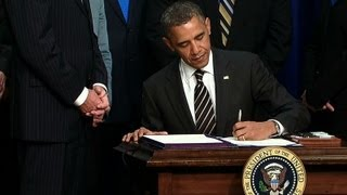 President Obama Signs the STOCK Act