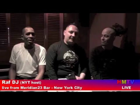 Raf DJ, DJ Cuba, Stefan on Air from Meridian23 Bar-NYC for Henry Street Music 20th Anniversary party
