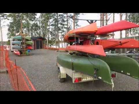 Canoeing Lake Saimaa, Finland, September 2014 (part1 of 2)