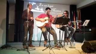 Nada nuevo tras de ti, Nico Montero con Alfonso Moreno y Pablo Morales