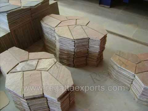 Crazy Paving on Net - Natural Stone Articles