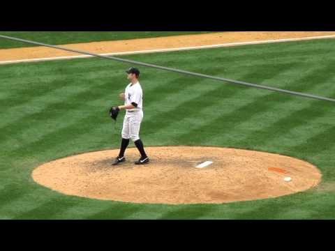 RHP David Robertson pitching mechanics