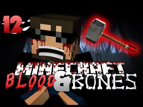Minecraft FTB Blood and Bones 12 - THOR'S HAMMER!! (Minecraft Mod Survival FTB)