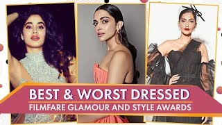 Deepika Padukone, Janhvi Kapoor, Shilpa Shetty: Best & Worst Dressed Filmfare Glamour & Style Awards