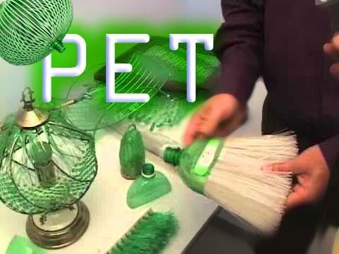 Artesanato de Garrafa PET - Paqtc-PB