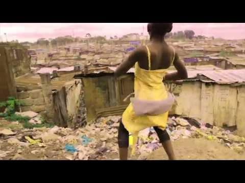 Mathare Ghetto Kids Dancing to Sitya Loss - Made in Mathare, Nairobi