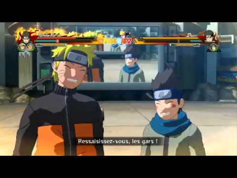 Naruto Shippuden Ultimate Ninja Storm Revolution Shisui vs Konohamaru Gameplay