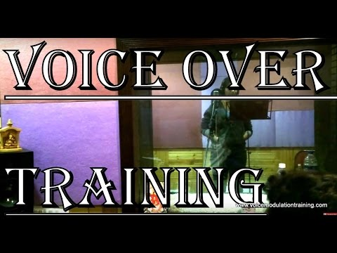 Voice Over Training of participant Shilpa Nair for IVRs in Mumbai by trainer  Bharatkumar Thanvi