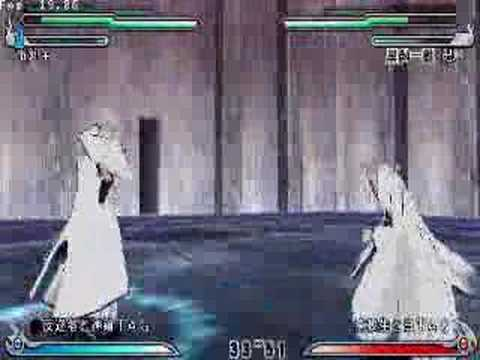 Bleach   heat the soul 5 - Aizen  Gin VS Ichigo  Hollow