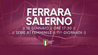 Serie A1F [11^]: Ferrara - Salerno 27-29