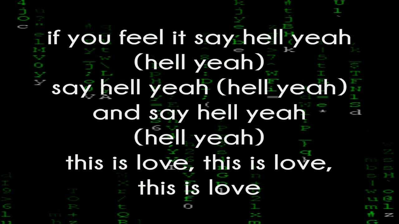 Will.I.Am Feat. Eva Simons - This Is Love (Lyrics On Screen) - YouTube