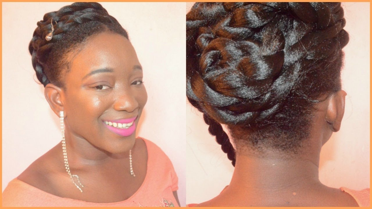Twa hairstyles for wedding