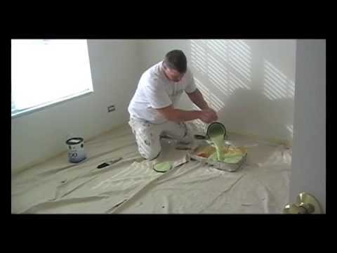 how to paint a room the best how to paint video pt 1 like a pro youtube. Black Bedroom Furniture Sets. Home Design Ideas