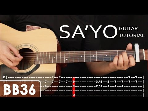 Sa'yo - Silent Sanctuary Guitar Tutorial - Holiday Special (fingerstyle, TAB)
