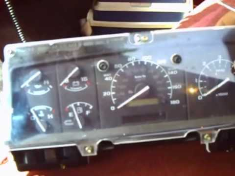 ford  instrument cluster swap youtube