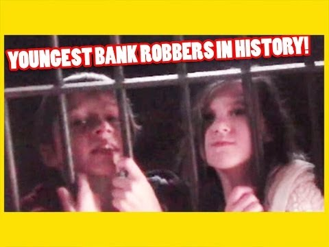 YOUNGEST BANK ROBBERS IN HISTORY SENT TO JAIL!   |  KITTIESMAMA