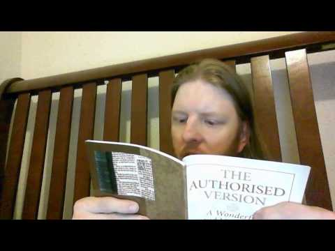 My review of the Trinitarian Bible Society (TBS) Royal Ruby Text Authorise (King James Version