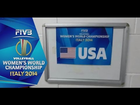 Behind the Scenes: USA celebrates FIVB Women's WCH win in locker room