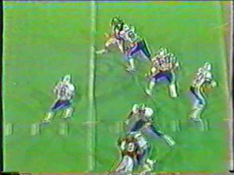 1983 Baylor football vs BYU 6 final possession